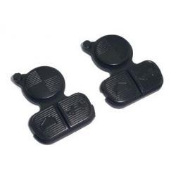 Lot de 2 Boutons touches pour Télécommande BMW E36, E38, E39, E46, SERIE 3/5/7