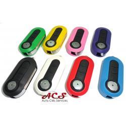Télécommande coque de clé plip 3 boutons Fiat 500, Punto, Panda