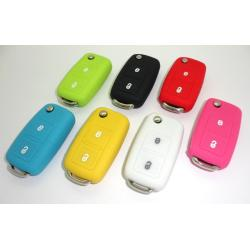 Étui housse de protection pour télécommande VW Golf 4/5/6, Coccinelle, Polo, Passat, Jetta, Eos 2 boutons