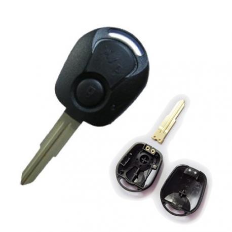 Télécommande coque de clé plip Ssangyong Actyon, Familly, Korando, Kyron, Musso, Rexton, Rodius, Stavic