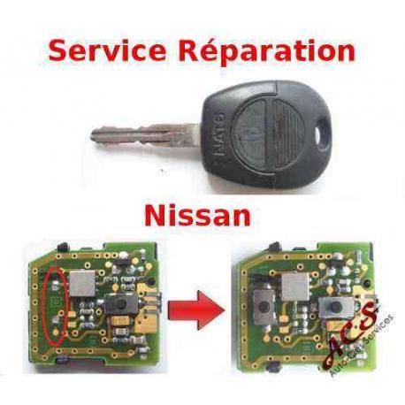 Service réparation télécommande clé Nissan X-TRAIL, NAVARA, MICRA, ALMERA, PRIMERA, TERRANO, PATROL