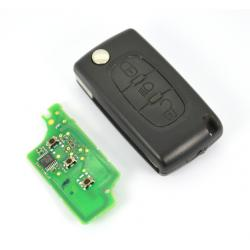 Télécommande électronique émetteur peugeot citroen 3 boutons 216766523C 21676652-3-C 31300226-8XO