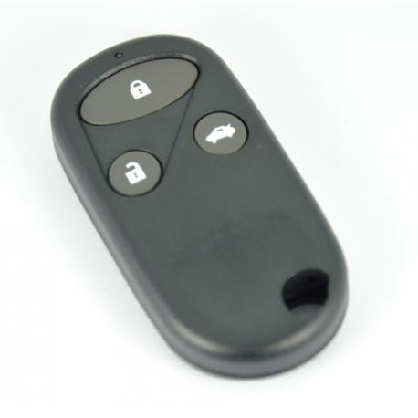 Télécommande coque de clé plip 3 boutons Honda Civic CRV Accord Jazz
