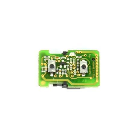 Télécommande électronique émetteur Opel 2 boutons 659856.21.02a siemens 5WK4 8669