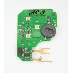 kit de réparation carte émetteur circuit électronique Renault Megane, Scenic 3 boutons