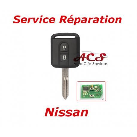Service réparation télécommande clé Nissan X-TRAIL, Qashqai, 350Z, NAVARA, ALMERA, PRIMERA, TERRANO, NOTE