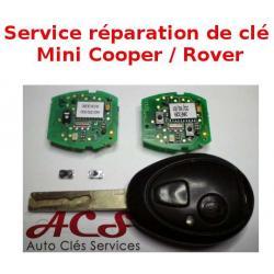Service réparation télécommande clé Rover 75 MG ZT 2 boutons