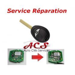 Service réparation télécommande clé Mini Cooper S, one, cabriolet, R50,R52,R53