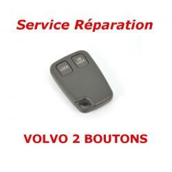 Service réparation télécommande clé 2 boutons Volvo S70, V70, C70, S40, V40, XC90, XC70
