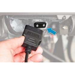 Antivol Verrou de protection prise OBD Mousse jacking solution