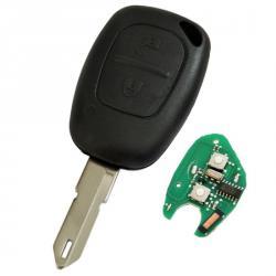 Télécommande émetteur Renault Kangoo 2 boutons