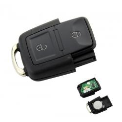 Télécommande émetteur VW SEAT SKODA 2 boutons 1J0959753AG 1 J0 959 753 AG