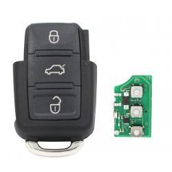 Télécommande émetteur VW 3 boutons 1K0959753G 1 K0 959 753 G