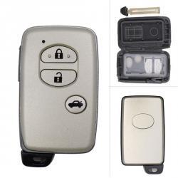 boitier de telecommande carte Toyota 3 boutons Prado, Prius, Yaris, Verso