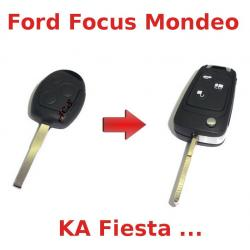 Kit de transformation de Clé pliable Ford FIESTA, FOCUS, KA, MONDEO, C-MAX