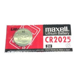 Pile Maxell CR2025 CR 2025 lithium pour télécommande, clé électronique