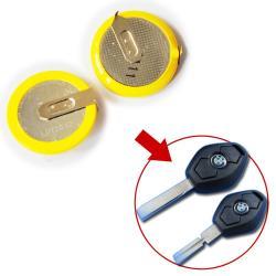 Pile batterie rechargeable LIR2032 LIR2025 3.6V Li-ion pour télécommande BMW