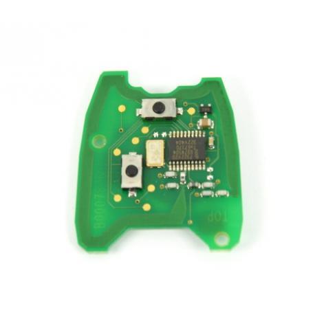 Télécommande électronique émetteur peugeot citroen 2 boutons B000787B