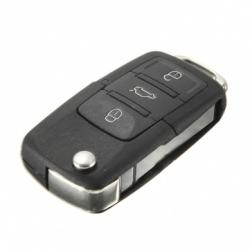 Télécommande coque de clé plip 3 boutons Skoda Fabia, Octavia, Suberb