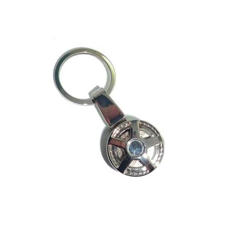 Porte-clés jante de voiture alu tuning US