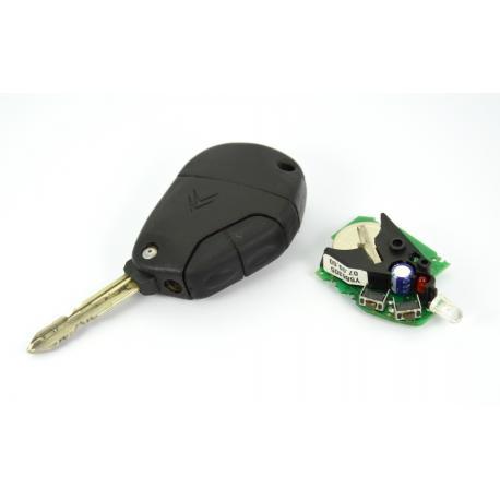 Télécommande électronique infra rouge peugeot citroen 2 boutons Evasion, 806, Xsara, Xantia, XM
