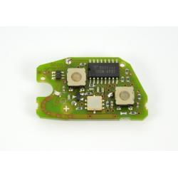 Télécommande électronique émetteur peugeot citroen 2 boutons 106 SAXO TEXTON E15CI01F