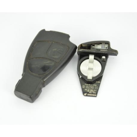 Télécommande clé Mercedes classe A/ B/ C/ E / S/ ML/ CLK/ SLK/ SL 3 boutons