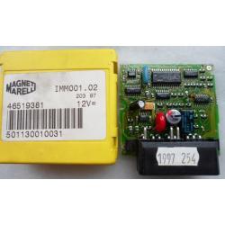 Copie de clé à partir du boitier IMMO BSI FIAT Magneti Marelli 46744908 46519381