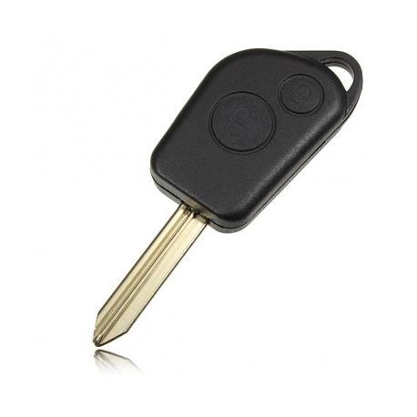 Télécommande coque de clé 2 boutons Citroën Xsara Picasso, Berlingo