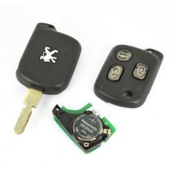 Télécommande émetteur peugeot 607 3 boutons REF 73372187B