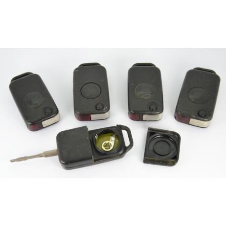 Télécommande clé Mercedes classe A/ B/ C/ E / S 1 bouton IR infrarouge