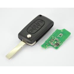 Télécommande émetteur Peugeot 207 CC 3 boutons 649079