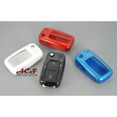 Étui coque pour télécommande clé VW GOLF POLO Touran Tiguan