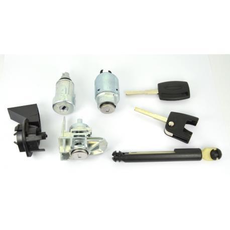 Kit barillet serrures de porte neiman + 2 clés Ford Focus