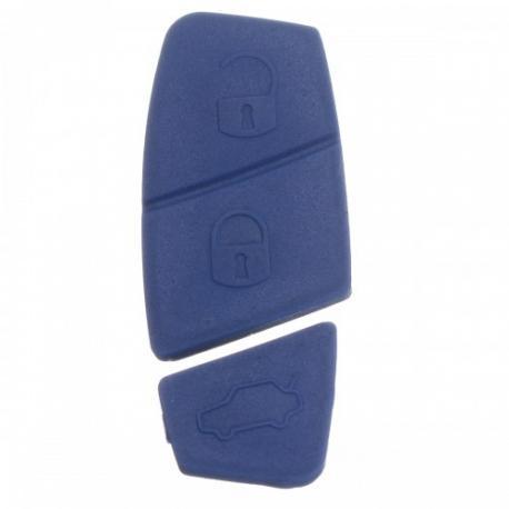 Bouton 3 touches bleu pour Télécommande Fiat Punto, Bravo, Doblo, Stilo, Brava, Panda