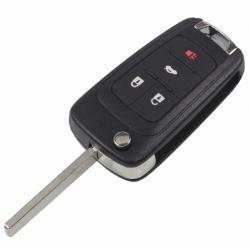 Télécommande coque de clé plip Chevrolet Camaro 4 boutons