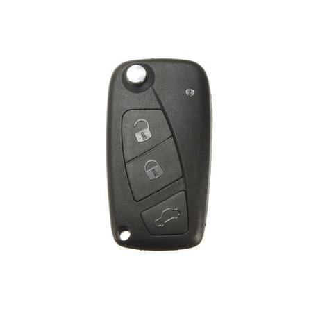Télécommande émetteur Fiat 500 Doblo Punto Grande Punto Fiorino 3 boutons