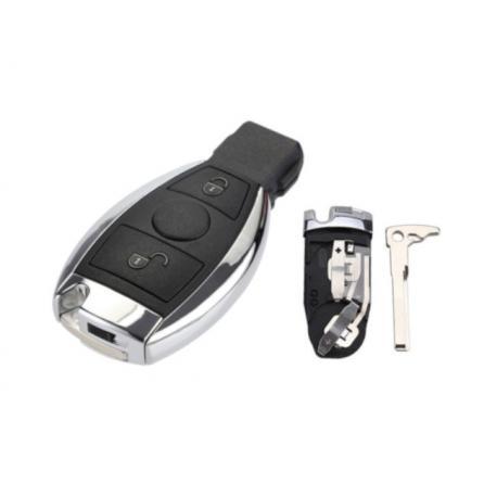 Boitier de télécommande clé Mercedes classe A, B, C, E, G, S, VITO Sprinter 2 boutons