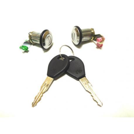 2 serrures barillets de porte Nissan MICRA K11 PRIMERA